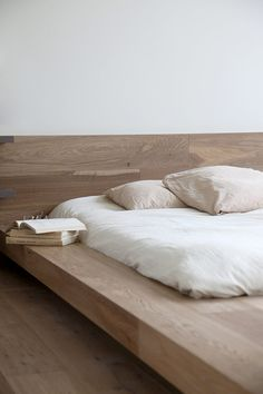 timber bed frame