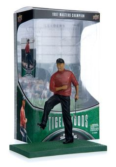 Tiger Woods/1997 Masters Champion Action Figure by Upper Deck