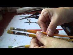 Aprenda a cortar seu pincel de pintura - YouTube