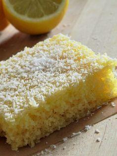 Katjas Testblog: Ich backs mir | Zitronen-Kokos-Kuchen #ichbacksmir