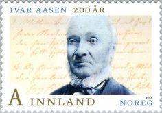 Ivar Aasen 200 Years Norway, Stamps, Movies, Movie Posters, Seals, Films, Film Poster, Cinema, Movie