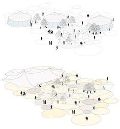 AV62 Arquitectos | Urban Planning | Citadel Park design competition