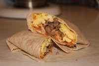 Make Ahead Healthy Breakfast Burritos:  Eat a Great Healthy Breakfast ALL WEEK!