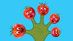 The Finger Family Tomato Family Nursery Rhyme Finger Family Rhymes, Family Songs, Abc Songs, Kids Songs, Finger Family Collection, Phonics Song, Kids Nursery Rhymes, Watch, Videos