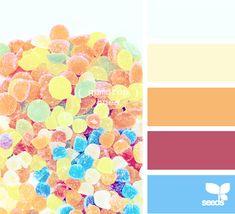 Palette:  Gumdrop Hues  (Design Seeds)