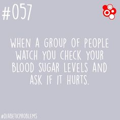What do you say when people ask if it hurts? #diabetes #diabetic #diabadass #diabeticproblems #diabetesawareness #type1diabetes #type2diabetes by diabetescommunity