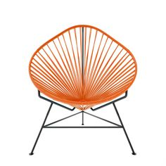 {Acapulco Chair} orange & black - this one would look so pretty in my living room!