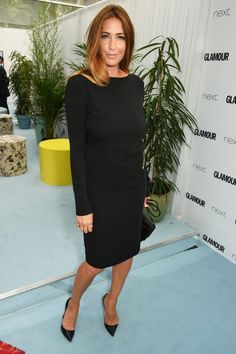 Pin for Later: Hollywood Royalty Mixed With the Brit It Crowd at the Glamour Women of the Year Awards Lisa Snowdon