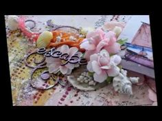 ''Escape'' - Mixed Media Layout Tutorial for 2Crafty Chipboard