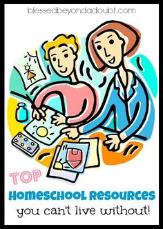 TOP helpful homeschool resources! Is your favorite one on the list? If not, please add!