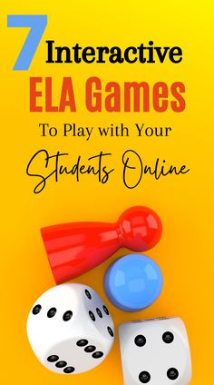 7 Interactive ELA Games to Play with Your Students Online