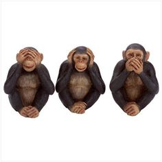 See no Evil, Hear no Evil, Speak no Evil...