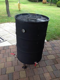 Burn Barrel, Barrel Grill, Uds Smoker, Ugly Drum Smoker, Custom Bbq Pits, Homemade Smoker, Outdoor Kitchen Bars, Barrel Furniture, Best Build