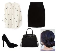 """""""Untitled #85"""" by lizgirl0805 ❤ liked on Polyvore featuring Thierry Mugler, Furla, women's clothing, women, female, woman, misses and juniors"""