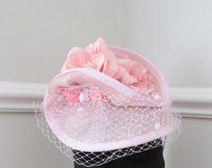 Pink Fascinator - Pink Wedding Fascinator - Racing Fascinator - Edit Listing - Etsy Wedding Fascinators, Headpieces, Pink Fascinator, Racing, Hat, Handmade, Etsy, Beauty, Hand Made