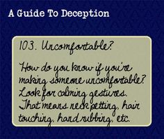 a guide to deception | Guide To Deception