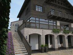 Загородный дом 1150 m2. Архитектурный проект. Architect: IRINA  RICHTER. INSIDE-STUDIO Prague