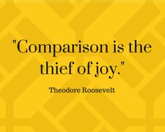 -Comparison is the thief of joy. Inspiring Quotes, You Can Do, Gratitude, Quotations, Bible Verses, Confidence, Wisdom, Joy, Sayings