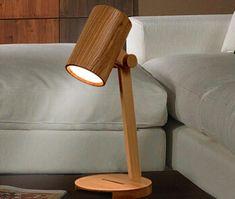 Hechos a mano madera original lámpara decorativa lámpara por EKfly