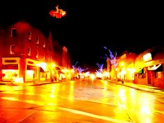 Northport Village Christmas Night 2015 by Ed Weidman