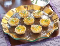 Our Port Salut and Fig Phyllo Cups are a delectable blend of fig preserves, cheese, and fresh rosemary. Phyllo Cups, Autumn Tea, Fruit Pie, Party Buffet, Tea Sandwiches, Christmas Appetizers, Melted Cheese, Cheese Recipes, Tea Time