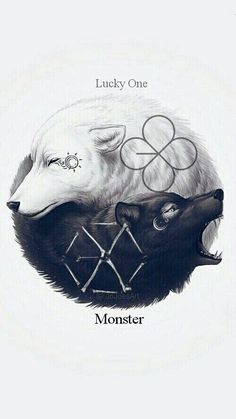 Fan art oh es hermoso y maravilloso este dibujo  #EXOGrandComeback #EXO #Monster…