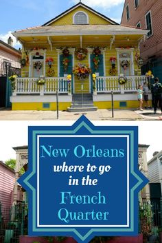 The French Quarter is the heart of New Orleans and one of the most unique places in the United States. Wandering around makes you feel like you've left the country. Here are our top picks for where to go in the French Quarter for any kind of travel - solo, couple or family!