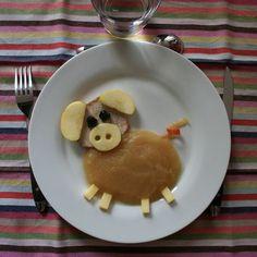 Rôti de porc en compote
