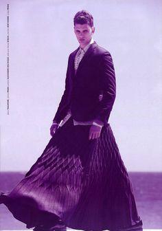 Menswear Monday: Men in Skirts | fashion. grunge. style.