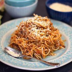 Cashew Parmesan (Vegan, Paleo). An easy and delicious dairy-free alternative for topping pasta and vegetables.