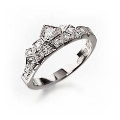 Unique engagement ring, alternative engagement ring, alternative wedding ring, crown ring, unique diamond ring, unique wedding band by KorusDesign on Etsy https://www.etsy.com/listing/190335525/unique-engagement-ring-alternative