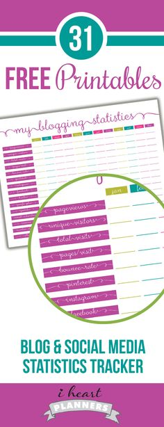EDITABLE Weekly Planner Printable Chevron - Family, Student, WAHM
