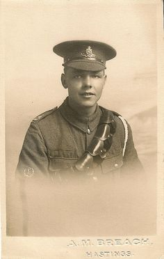 WWI soldier, portrait, Hastings | Flickr - Photo Sharing!