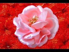 (15) Rosas hermosas semis naturales en cintas - YouTube