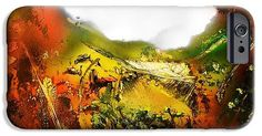 Printed with Fine Art spray painting image Golden Valley by Nandor Molnar (When you visit the Shop, change the orientation, background color and image size as you wish)