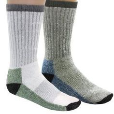 @Overstock - These comfortable socks from Woolrich feature a twelve inch extended crew length and a touch of stretch. This pack comes with three pairs.http://www.overstock.com/Clothing-Shoes/Woolrich-Ultimate-Merino-Wool-Sock-Pack-of-3-Pairs-Refurbished/6187457/product.html?CID=214117 $29.69