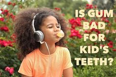 While kids and adults with dental appliances should avoid all gum not all chewing gum is created equal. Look for sugar-free chewing gum and especially gum made with xylitol a natural sweetener thats actually been shown to reduce cavities! - Kids and Family Dentistry | Livingston NJ | kidsfamilydentistry.com