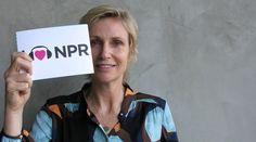 Jane Lynch loves NPR