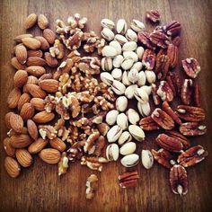 Frutos secos, saludables, nutritivos y deliciosos, unos ingredientes maravillosos