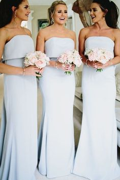 One Shoulder Half Sleeve White Bridesmaid Dresses Sheath Satin African Wedding Party Dresses Beaded Back Slit Prom Dresses Dependable Performance Weddings & Events