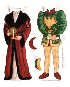 Prince Charming - A Paper Doll from the Enchanted Forest Series by Peck-Gandre - Nena bonecas de papel - Picasa Web Albums