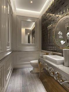Most Design Ideas Elegant Bathroom Decor Pictures, And Inspiration – Modern House Small Luxury Bathrooms, Contemporary Small Bathrooms, Public Bathrooms, Bathroom Design Luxury, Bathroom Design Small, Bathroom Layout, Dream Bathrooms, Beautiful Bathrooms, Bathroom Ideas