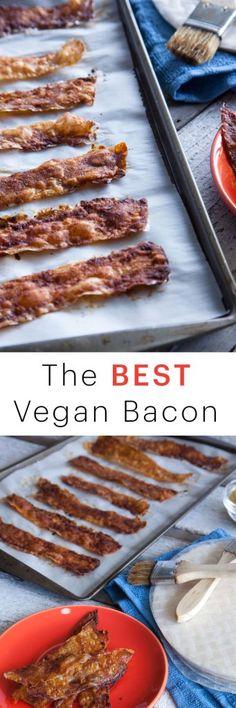 Vegan bacon Recipe: Make Vegan Bacon Using Rice Paper