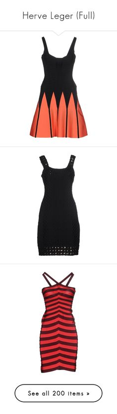 """""""Herve Leger (Full)"""" by bleubeauty1 ❤ liked on Polyvore featuring dresses, herve leger, black, sleeveless short dress, herve leger dress, mini dress, 2 tone dress, two tone dress, sleeveless dress and zipper dress"""