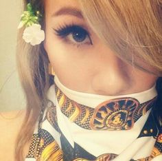 #CL #Chaerin #2NE1 #SWING #W/Mask