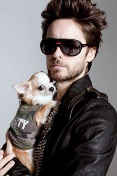 Jared Leto & puppy! awwwwww!! ❤️
