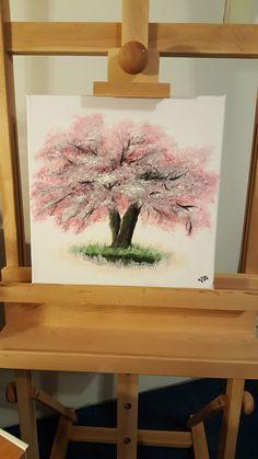 tree pink spring