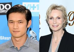 """Glee"" stars Harry Shum Jr. and Jane Lynch opened up about being back on set without Cory Monteith."