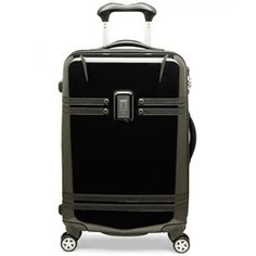 """The Travelpro Crew 10 - 21"""" Expandable Hardside Spinner is split case constructed which provides multiple packing options."""
