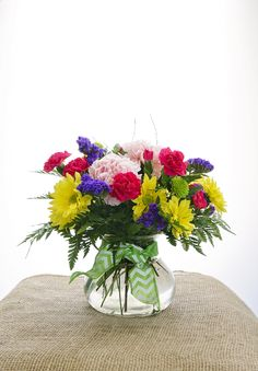 Make a statement-say it with flowers!